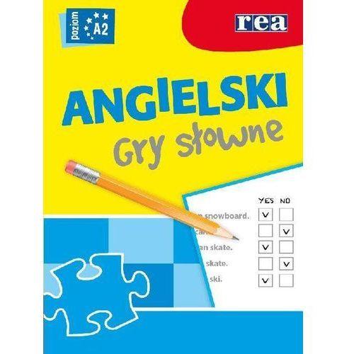 Książki do nauki języka, Język Angielski. Gry Słowne. Poziom A2 (opr. miękka)