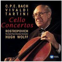 Pozostała muzyka rozrywkowa, BAROQUE CELLO CONCERTOS - Mstislav Rostropovitsch (Płyta CD)