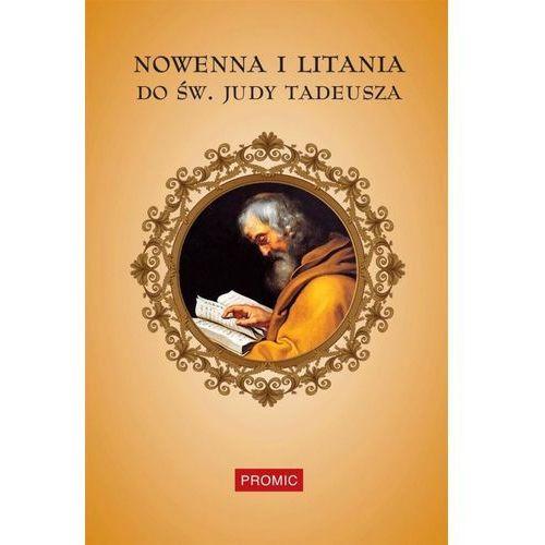 Książki religijne, Nowenna i litania do św. Judy Tadeusza (opr. miękka)