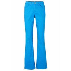 Spodnie z bawełny ze stretchem, z guzikami bonprix czerwony