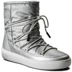 Śniegowce MOON BOOT - Pulse Nylon Plus Wp 24102500002 Argento