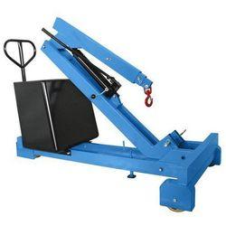 Żuraw z przeciwwagą, nośność maks. 350 kg, pompa hydrauliczna o działaniu podwój