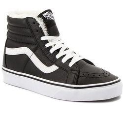 Sneakersy VANS - Sk8-Hi Reissue VN0A2XSBEU11 (Leather/Fleece) Blk/Trwht