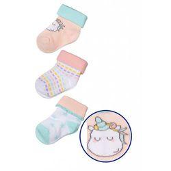 Skarpety niemowlęce 3pak 5V3340 Oferta ważna tylko do 2019-05-17
