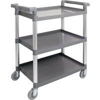 Wózki na żywność, Wózek kelnerski z tworzywa - 3-półkowy