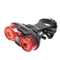 Oświetlenie rowerowe, Lampa tylna Falcon Eye ROSS (2 x AAA)
