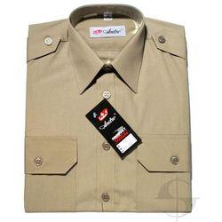 Koszula khaki Straży Granicznej - długi rękaw - WYPRZEDAŻ