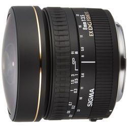 Sigma 8 MM F3.5 EX DG Polarizer Fisheye obiektyw (Gelatine filter), do Canon