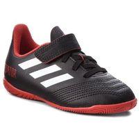 Obuwie sportowe dziecięce, Buty adidas - Predator Tango 18.4 In J DB2334 Cblack/Ftwwht/Red