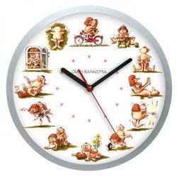 Zegar ścienny solid Crazy Kamasutra