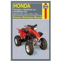 Biblioteka motoryzacji, Honda TRX300Ex, TRX400X/Ex, TRX450R/Er ATVs (93 - 14)