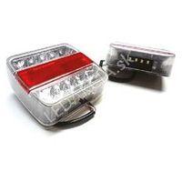 Lampy tylne, Lampa LED zespolona diodowa tylna 12V + Bezpłatna natychmiastowa gwarancja wymiany!