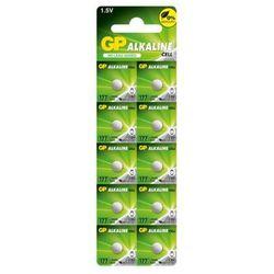 10 x bateria alkaliczna mini GP 177 / G4 / AG4 / LR626