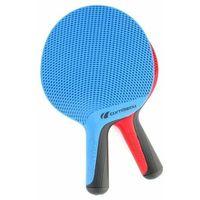 Tenis stołowy, Zestaw dwóch rakietek SoftBat Duo Outdoor Cornilleau