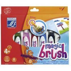 MAGIC BRUSH zestaw 6 pisaków pędzelkowych