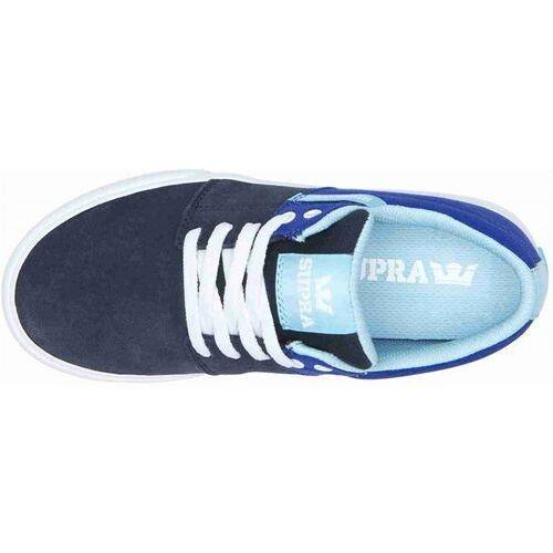 Damskie obuwie sportowe, buty SUPRA - Stacks Vulc Ii Royal/Navy-White (499) rozmiar: 34.5
