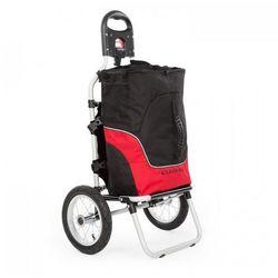 DURAMAXX Carry Red przyczepka rowerowa wózek ręczny czarno-czerwony