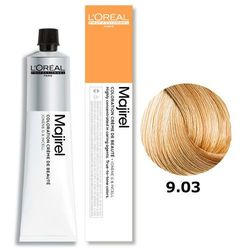 Loreal Majirel | Trwała farba do włosów - kolor 9.03 bardzo jasny blond złocisto naturalny 50ml