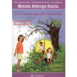 Od wierszyka do rysunku Zestaw pomocy dydaktycznych Metoda Dobrego Startu (opr. miękka)