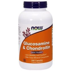 Glukozamina Chondroityna Trace Mineral Concentrate 240 kaps.