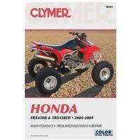 Biblioteka motoryzacji, Clymer Manuals Honda TRX450R and TRX450ER 2004-2009 M201