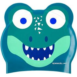 speedo Printed Character Czepek, cosmos/emerald/aqua mint 2020 Czepki pływackie Przy złożeniu zamówienia do godziny 16 ( od Pon. do Pt., wszystkie metody płatności z wyjątkiem przelewu bankowego), wysyłka odbędzie się tego samego dnia.