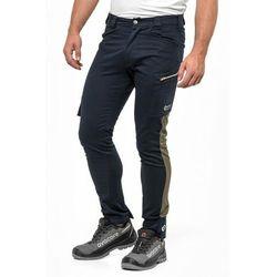 Spodnie do pasa TUBBOS w kolorze granatowo-oliwkowym
