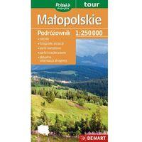 Mapy i atlasy turystyczne, Małopolskie / Małopolska. Turystyczna mapa samochodowa. Wyd. 2014. Demart (opr. miękka)