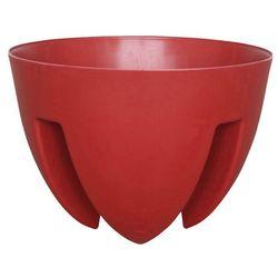 Doniczka balkonowa Verve 30 cm czerwona