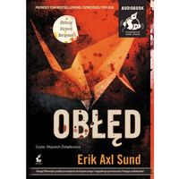 Audiobooki, Obłęd. Książka audio CD MP3 + zakładka do książki GRATIS