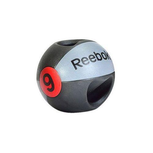 Piłki i skakanki, Reebok Piłka lekarska z uchwytem 9 kg - 9 kg