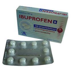 IBUPROFEN - przeciwbólowy, przeciwgorączkowy, przeciwzapalny 10 tabl.