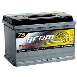 Akumulator GROM Premium 75Ah 700A EN PRAWY PLUS