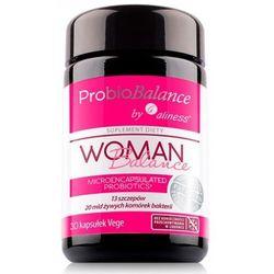 ProbioBalance Woman Balance (13 szczepów x 20mld ) 30 kaps. Aliness