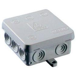 Puszka instalacyjna Wiska Ka12/leer/rot 10060825, IP54, (DxSxW) 80 x 80 x 40 mm, czerwony, 1 szt.