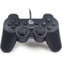 Gamepady, Gamepad Gembird USB Gamepad Dual Vibration (JPD-UDV-01) Darmowy odbiór w 20 miastach!