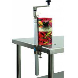 Przemysłowy otwieracz do puszek HESSY | 180x70x(H)660mm