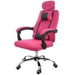 Fotel biurowy GIOSEDIO różowy, model GPX012