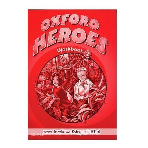 Książki do nauki języka, Oxford Heroes 2 Workbook (opr. miękka)