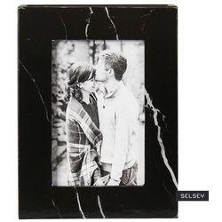 SELSEY Ramka na zdjęcia Rosela 12x16 cm drewniana czarna