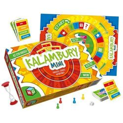 Gra KALAMBURY mini edukacyjna towarzyska MG0130
