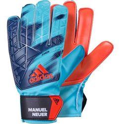 Rękawice bramkarskie ADIDAS AZ3699 (rozmiar 4) Błękitno-pomarańczowy