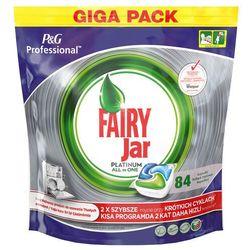 Kapsułki do zmywarek automatycznych Fairy Platinum All-In-One (84 szt)