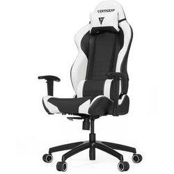 Vertagear S-Line SL2000 Racing Series Krzesło gamingowe - Czarno-biały - Skóra PU - 150 kg