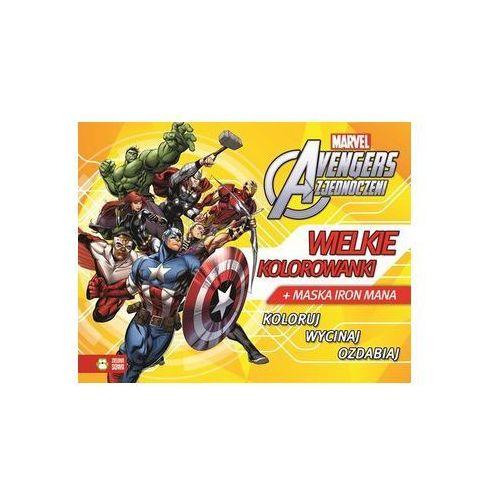 Kolorowanki, Avengers. Wielkie kolorowanki + zakładka do książki GRATIS