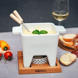 Zestaw do tapas fondue bianco 600 ml boska (bo-853544)