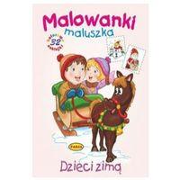 Książki dla dzieci, Malowanki maluszka - Dzieci zimą PASJA (opr. miękka)