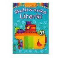 Książki dla dzieci, Malowanka 145x210 lit literki 2 (opr. miękka)
