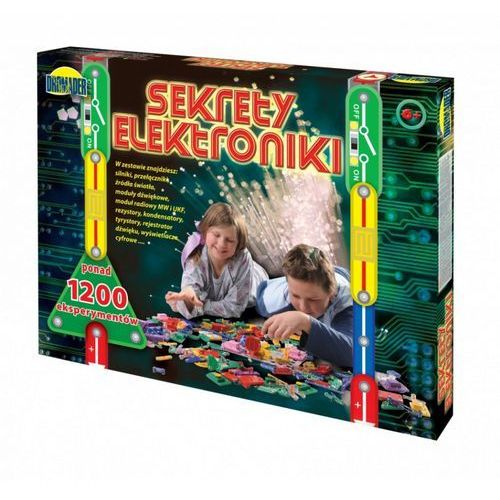 Pozostałe zabawki edukacyjne, DROMADER Sekrety Elektroniki 1200 eksp. - DARMOWA DOSTAWA!