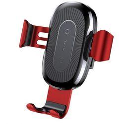Baseus Wireless Charger uchwyt i ładowarka QI Czerwony